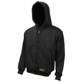 Dewalt Black Heated Hoodie Black Color -1 / Box