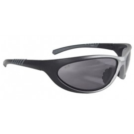 Paradox Safety Glasses with 1236/Black Frame and Smoke Lens