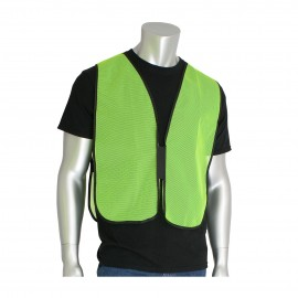PIP Safety Vests Polyester Non Ansi Hook and Loop closure One Size - 50 / Box