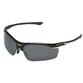 OCC401 Safety Glasses with Black Frame and 1236 Mirror Lens