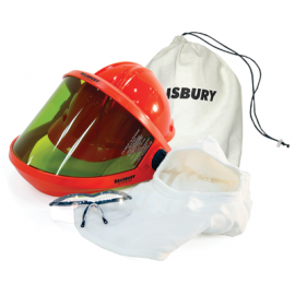 Salisbury Arc Flash Safety Kit 20 Cal White Color One Size - 1 EA