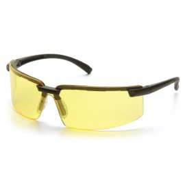 Pyramex Safety Surveyor Safety Glass-Amber Lens 1 Pair