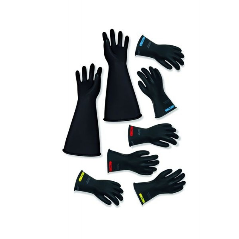 """16"""" Length Class 1 Rubber Insulated Gloves"""