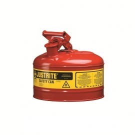 Justrite Type 1 Safety Can - 2.5 Gallon