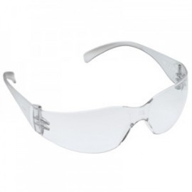 3M™ Virtua™ Protective Eyewear 11329-00000-20 Clear Anti-Fog Lens, Clear Temple