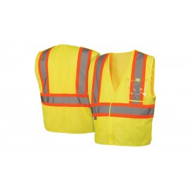 Pyramex Lumen X Hi-Vis Lime With 5 Point Break - Size Extra Large