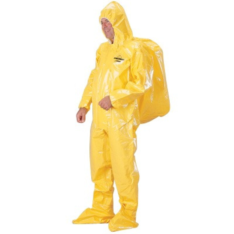 Tychem BR Coveralls with Expandable Back for SCBA Units