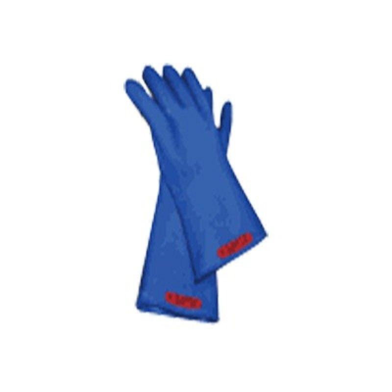 Rubber Insulated Electrical Gloves 26500 Volt