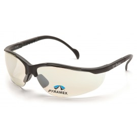 Pyramex Safety - V2 Readers - Black Frame/Indoor/Outdoor Mirror + 1.5 Lens Polycarbonate Safety Glasses - 6 / BX
