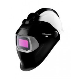 3M™ Speedglas™ Welding Helmet 100 QR 07-0012-31BL-QR, with Auto-Darkening Filter 100V and Hardhat H-701R