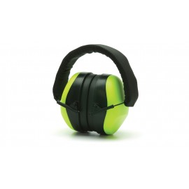 Pyramex PM80 Series PM8031  Ear Muff Hi Vis Lime Green Color One Size - 1 EA
