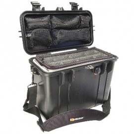 Pelican 1430 Top Loader Case with Padded Dividers & Lid Organizer
