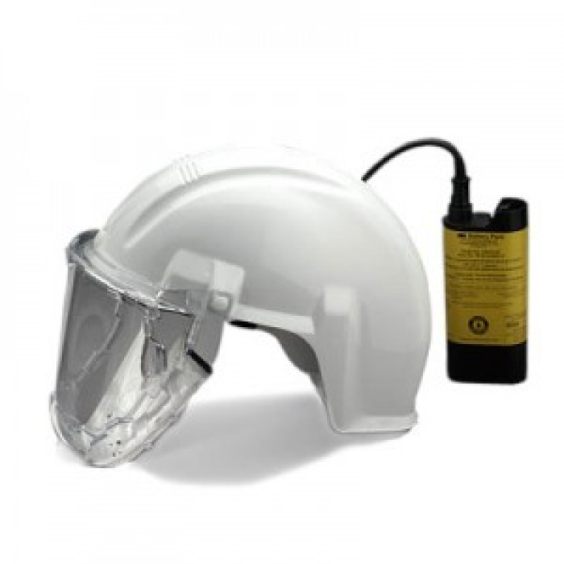 3M™ Airstream™ Headgear-Mounted Powered Air Purifying Respirator (PAPR) System AS-400LBC