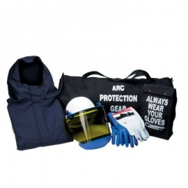 CPA 12 Cal Arc Flash Hooded Jacket and Pants Kit - Level 2