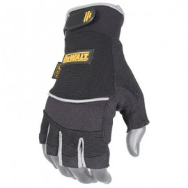 DeWalt Fingerless Synthetic Leather Gloves