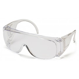 Pyramex Safety - Solo - Clear - Dispenser pack/12 per box Polycarbonate Safety Glasses - 12 / BX