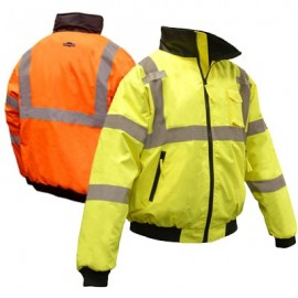 Radians 2-In-1 High Visibility Bomber Jacket
