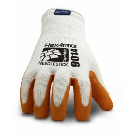 HexArmor SharpsMaster II Cut Resistant 9014 Work Glove White Color 1 Pair