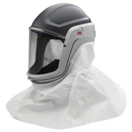 3M™ Versaflo™ Respiratory Helmet Assembly M-405, with Standard Visor and Shroud