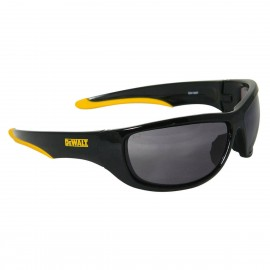 DEWALT Dominator- Smoke Lens Safety Glasses Full Frame Style Black Color - 12 Pairs / Box