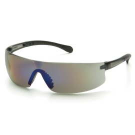 Pyramex Safety - Provoq - Blue Mirror Frame/Blue Mirror Lens Polycarbonate Safety Glasses - 12 / BX