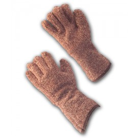 """Terry Cloth Seamless Knit Glove- 4.5"""" Gauntlet Cuff (LARGE)"""