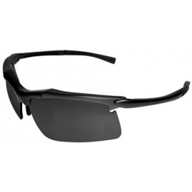 LE200 Patrol Series Safety Glasses with Gray Anti-Fog Lens