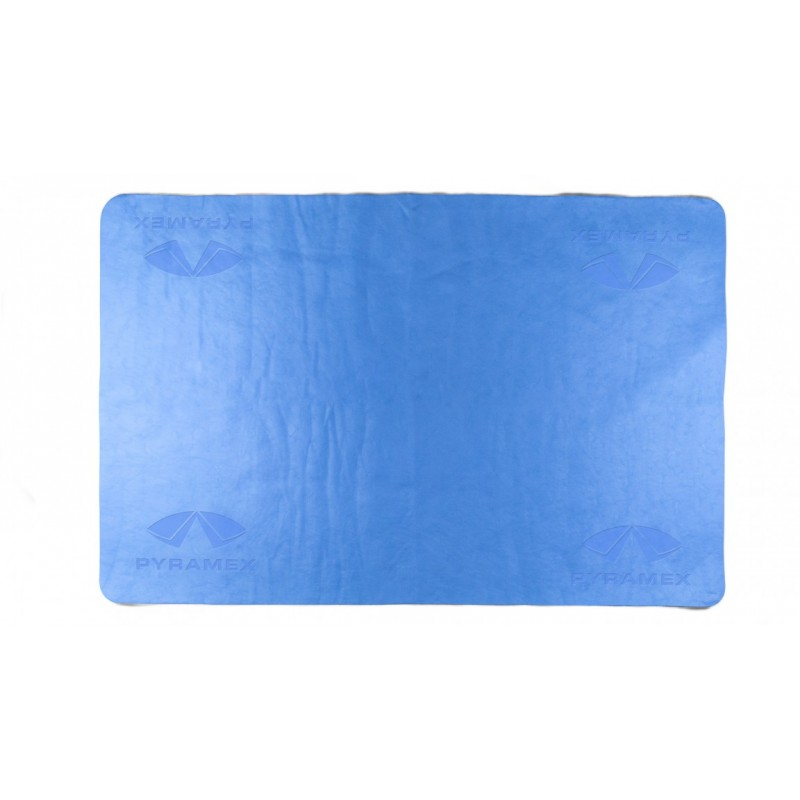 Pyramex Cooling Towel Blue Color 1/Ea