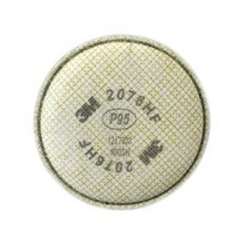 3M Particulate Cartridge 2076HF, Hydrogen Fluoride/P95 Respiratory Protection, with Nuisance Level Acid Gas Relief