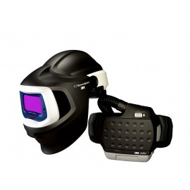 3M™ Adflo™ PAPR with 3M™ Speedglas™ Welding Helmet 9100MP, 37-1101-20SW, HE, Li Ion Battery, Hard Hat, ADF 9100X