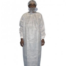 PE-Coated Polypropylene Gown