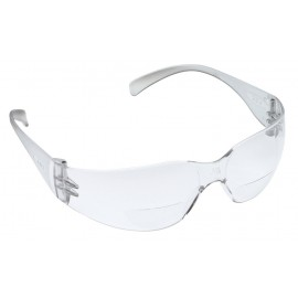 3M™ Virtua™ Reader Protective Eyewear 11514-00000-20 Clear Anti-Fog Lens, Clear Temple, +2.0 Diopter 20 EA/Case