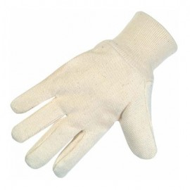 Cotton Canvas Wing Thumb Glove-Mens