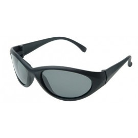 Cobalt Safety Glasses with Smoke Lens