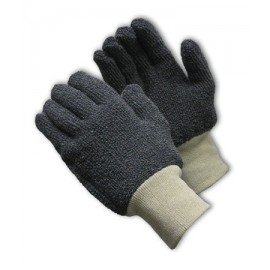 Terry Cloth Seamless Knit Glove - 18 oz