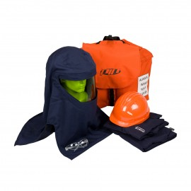 PIP PPE 3 Arc Flash Kit - 25 Cal/cm2 Coverall Backpack Blue Color