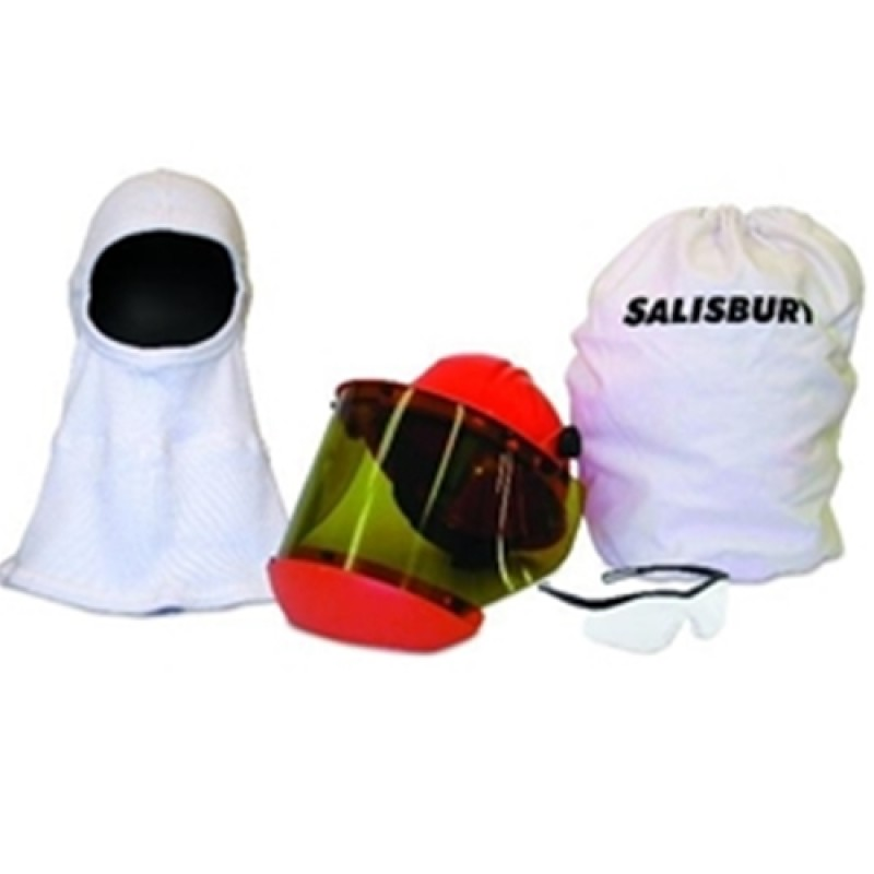 Salisbury Arc Flash Safety Kit 12 Cal White Color One Size - 1 EA