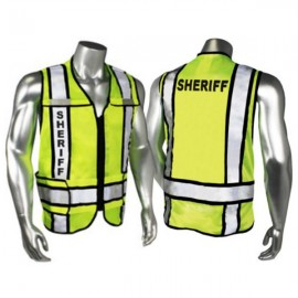 Radians Zip-N-Rip ANSI 207 Sheriff Logo | Safety Vests | Enviro Safety Products
