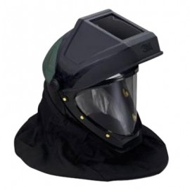 3M Helmet L-905 with Welding Shield and Wide-View Faceshield