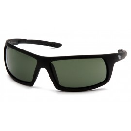 Venture Gear Tactical - Stonewall - Black Frame/Smoke Green Anti-Fog Lens Polycarbonate Safety Glasses - 1 / EA