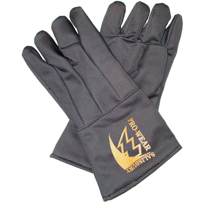 Salisbury AFG40 Arc Flash Gloves Nomex Material Gray Color One Size - 1 Pair