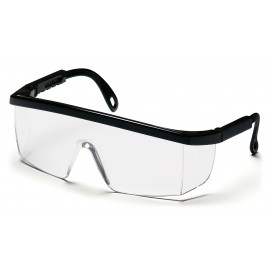 Pyramex Integra Black Frame/Clear Anti-Fog Lens 12/Box