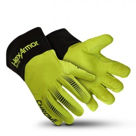 HexArmor Chrome Series 4085 Welding Gloves Yellow Color - 1 Pair