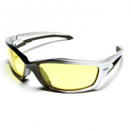 Edge Kazbek Safety Glasses - Yellow Lens