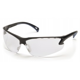 Pyramex Venture 3 Safety Glass-Clear Anti-Fog Lens 12 Pairs
