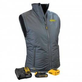Dewalt  DCHVL10 Heated Ladies Vest Kit  Gray Color - 1 / Box