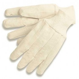 Cotton Canvas Gloves - 12 Pairs / Box