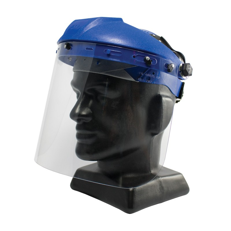 "PIP Bouton Optical Universal Fit Polycarbonate Safety Visor - .040"" Thickness 100/Case"