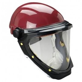 3M Bumpcap L-501 with Wide-view Faceshield