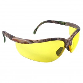 Radians Journey - Amber Lens - Realtree Camo Frame Safety Glasses Half Frame Style Camo Color - 12 Pairs / Box